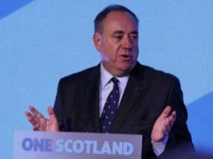 Alex Salmond, en la compareixença d'aquesta matinada