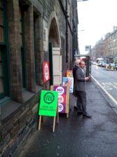 Col·legi electoral en una església d'Edimburg